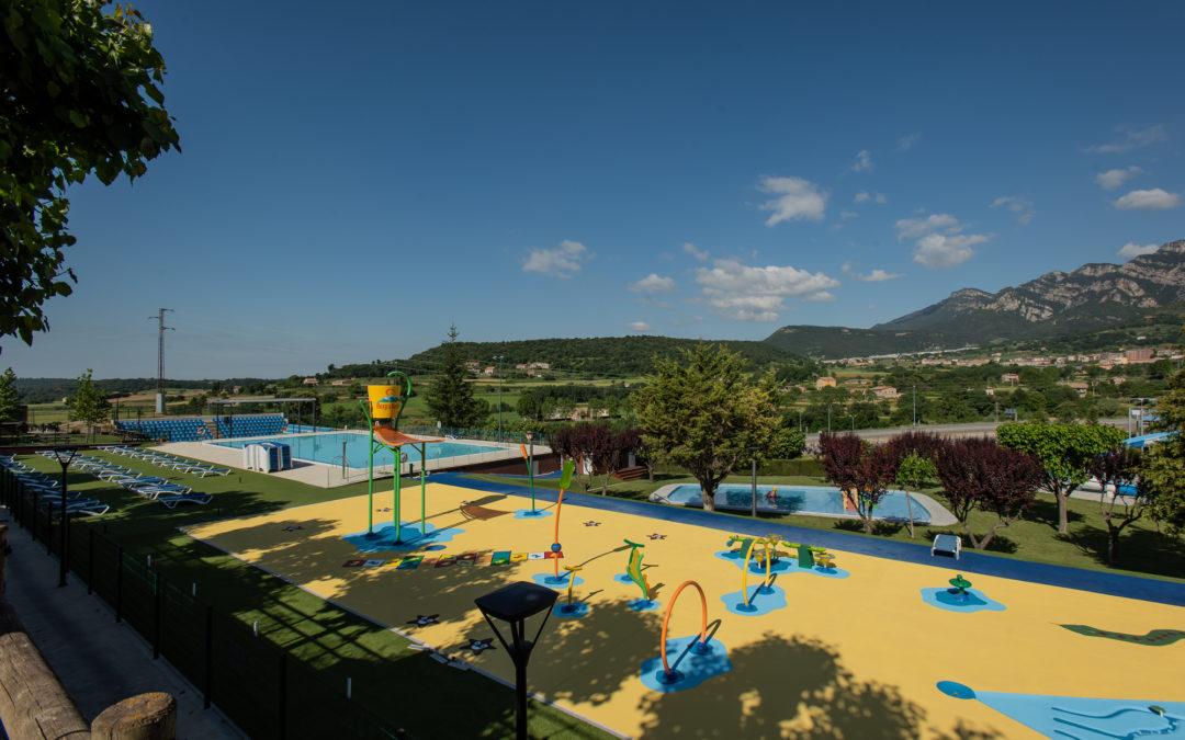Millorem el parc aquàtic del Berga Resort